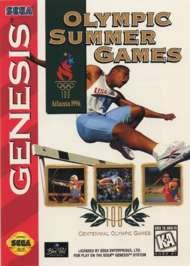 Olympic Summer Games: Atlanta '96 - Sega Genesis - Used