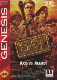 Operation Europe: Path to Victory 1939-45 - Sega Genesis - Used