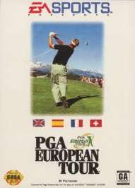 PGA European Tour - Sega Genesis - Used