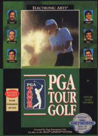 PGA Tour Golf - Sega Genesis - Used