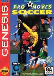 Pro Moves Soccer - Sega Genesis - Used