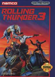 Rolling Thunder 3 - Sega Genesis - Used