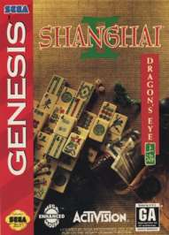 Shanghai II: Dragon's Eye - Sega Genesis - Used
