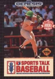 Sports Talk Baseball - Sega Genesis - Used