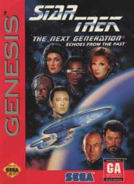 Star Trek: The Next Generation: Echoes From the Past - Sega Genesis - Used