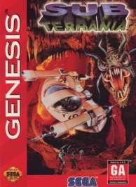 Subterrania - Sega Genesis - Used