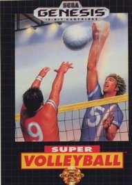 Super Volleyball - Sega Genesis - Used