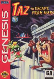 Taz in Escape from Mars - Sega Genesis - Used