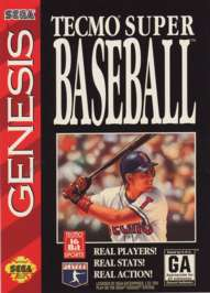 Tecmo Super Baseball - Sega Genesis - Used