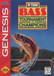 TNN Bass Tournament of Champions - Sega Genesis - Used