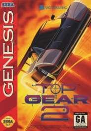 Top Gear II - Sega Genesis - Used