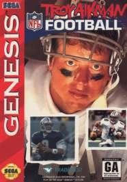 Troy Aikman NFL Football - Sega Genesis - Used