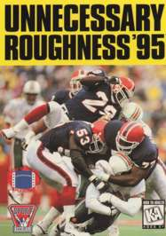 Unnecessary Roughness '95 - Sega Genesis - Used