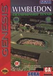 Wimbledon Championship Tennis - Sega Genesis - Used