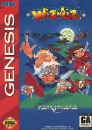 Wiz 'n' Liz - Sega Genesis - Used