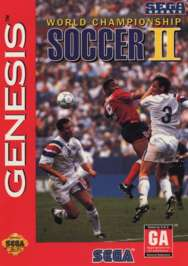 World Championship Soccer II - Sega Genesis - Used
