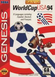 World Cup USA 94 - Sega Genesis - Used