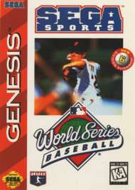 World Series Baseball - Sega Genesis - Used