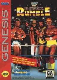 WWF Royal Rumble - Sega Genesis - Used