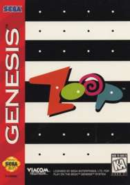 Zoop - Sega Genesis - Used