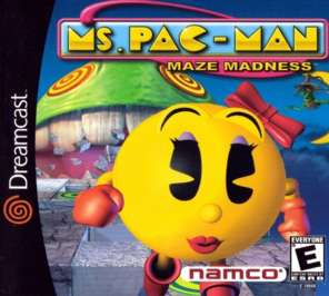 Ms. Pac-Man Maze Madness - Dreamcast - Used