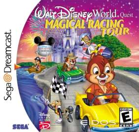 Walt Disney World Magical Racing Tour - Dreamcast - Used