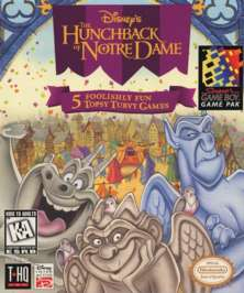 Hunchback of Notre Dame - Game Boy - Used