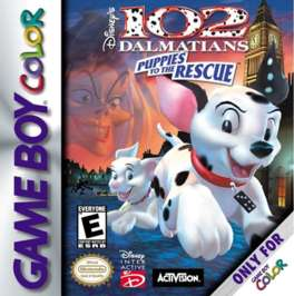 102 Dalmatians: Puppies to the Rescue - Game Boy Color - Used