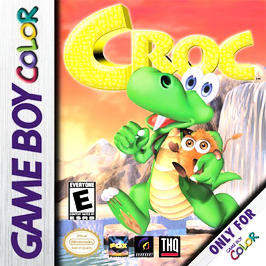 Croc - Game Boy Color - Used