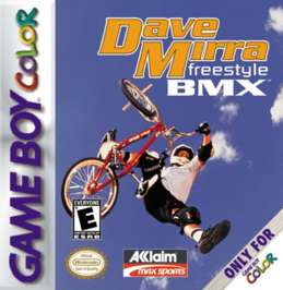 Dave Mirra Freestyle BMX - Game Boy Color - Used