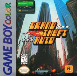 Grand Theft Auto - Game Boy Color - Used