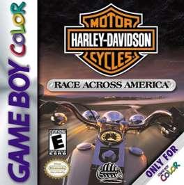 Harley-Davidson: Race Across America - Game Boy Color - Used