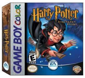 Harry Potter and the Sorcerer's Stone - Game Boy Color - Used