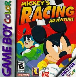 Mickey's Racing Adventure - Game Boy Color - Used