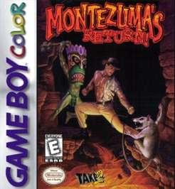 Montezuma's Return - Game Boy Color - Used