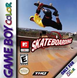 MTV Sports: Skateboarding Featuring Andy Macdonald - Game Boy Color - Used