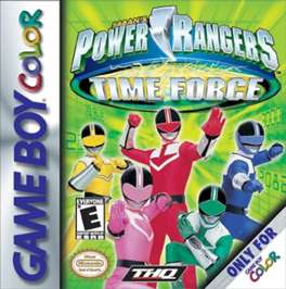 Power Rangers Time Force - Game Boy Color - Used