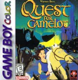 Quest for Camelot - Game Boy Color - Used