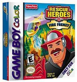 Rescue Heroes: Fire Frenzy - Game Boy Color - Used
