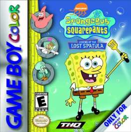 SpongeBob SquarePants: Legend of the Lost Spatula - Game Boy Color - Used