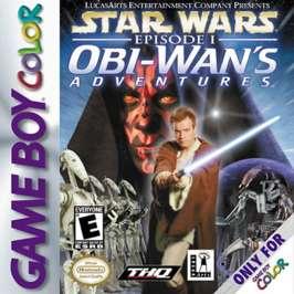 Star Wars Episode I: Obi-Wan's Adventures - Game Boy Color - Used