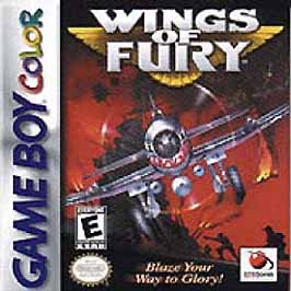 Wings of Fury - Game Boy Color - Used