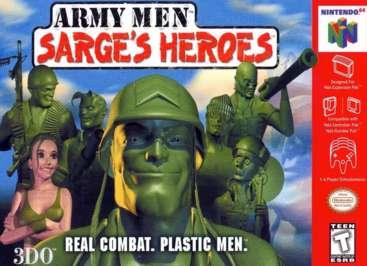 Army Men: Sarge's Heroes - N64 - Used