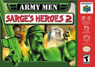 Army Men: Sarge's Heroes 2 - N64 - Used