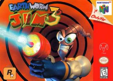 Earthworm Jim 3D - N64 - Used
