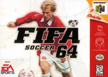 FIFA Soccer 64 - N64 - Used