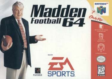 Madden Football 64 - N64 - Used