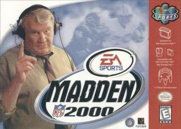 Madden NFL 2000 - N64 - Used