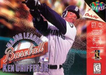 Major League Baseball Featuring Ken Griffey Jr - N64 - Used