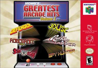 Midway's Greatest Arcade Hits Volume I - N64 - Used